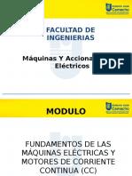 Máquinas Eléctricas CC NV FEB 22 2017