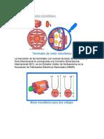 Terminales Del Motor Monofásico de Fase Partida