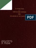 un papiro griego del evangelio de san Mateo.pdf