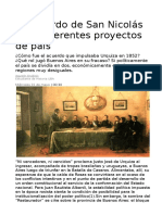 A 165 años del Acuerdo de San Nicolás