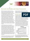 Biomarker Identification Assay and Development
