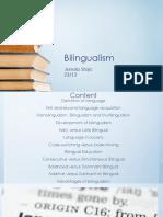 Bilingualism Pre Final Version