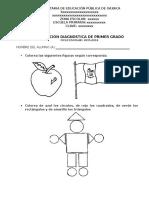 Evaluación Diagnóstica Primer Grado