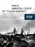 "The Human & Environmental Costs Of ""Clean Energy"""