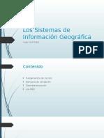 Los Sistemas de Información Geográfica
