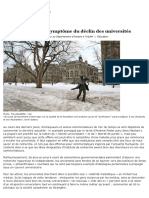 McGill Et Potter_ Le Symptôme Du Déclin Des Universités _ Le Devoir