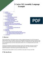 LPC17xx ARM Cortex M3 Assembly Language Example
