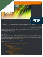 Manual de Usuario de GIMP v2.8