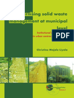 (Environmental Policy 3) Christine Majale Liyala-Modernising Solid Waste Management at Municipal Level_ Institutional Arrangements in Urban Centres of East Africa-Wageningen Academic Publishers (2011)