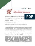 Simposio Congreso Internacional-Mendoza