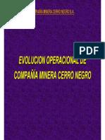 05. Evolucion de Las Operaciones de Minera Cerro Negro