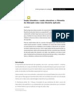 A Pedro - Razão Filosófica e Razão Educativa