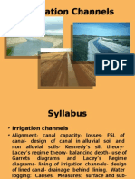 Irrigation and hydraulic structures lecture