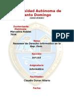 Derecho Informatico en La Republica Dominicana 2
