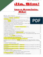 Hélio de Menezes Sil - Biblia Sim. Calvino e Arminio Nao
