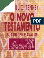 Merrill C. Tenney - O Novo Testamento - Sua Origem e Análise