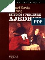 Horwitz, Bernhard - Estudios y finales de ajedrez - (Repaginación - gardesa).pdf