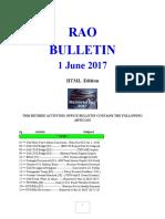 Bulletin 170601 (HTML Edition)