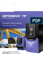 85-ODP2B-In V3.03 Optidrive P2 Brochure