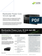 Rectiverter Power Core 18 KVA 3ph MB (DS - CIOR1207.DS3 - 1 - 1) - 1