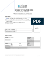 Application Form Nielsen
