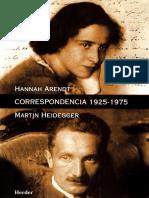 Heidegger & Arendt - Correspondencia 1925-1975_unprotected