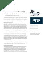 Polycom Realpresence Group 500 Data Sheet