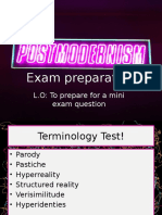 L7 Exam Prep and Feedback
