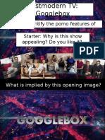 L16 Postmodern TV Gogglebox Wro