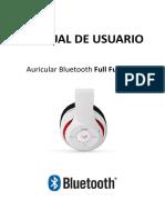 Manual de Usuarios Auricular BT Iwon BH-1