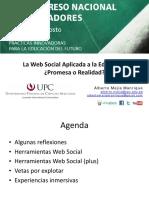 La Web Social Aplicada a la Educación, promesa o realidad