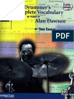 Alan Dawson - The Drummer's Complete Vocabulary