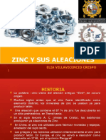 Zinc y Sus Aleaciones