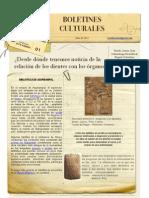 Boletín Cultural