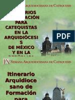 ItinerariosFormacionParaCatequistas