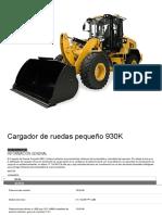 Cargador de Ruedas Pequeño 930K