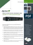 Aprisa XE Datasheet ETSI 4p English