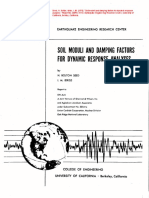 272419493 EERC 70 10 Soil Moduli and Damping Factors for Dynamic Response Analyses