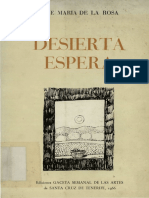 Desierta Espera - José María de La Rosa