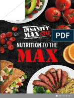 InsanityMax30 Nutrition Guide Nutrition To The Max Nutrition Guide No Time To Cook Guide