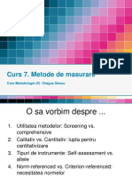 _Curs 7 Metodologie - Metode de Masurare (2015!01!07)