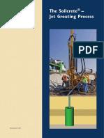 Ficha Técnica Keller - The Soilconcrete - Jet Grouting Process