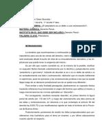 Buscalia G. - Petardismo, Delito o Contravencion