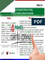 Política PEMEX SSPA 6 Principios May 2017
