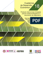 Documento de Diagnóstico. PIB Trimestral de Bogotá