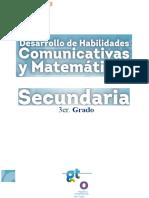 3ro Secundaria Desarrollo de Habilidades 2013 - PLANEA