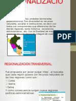 REGIONALIZACION