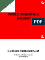 Gestión de la innovación educativa