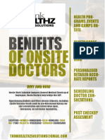 Benifits of Onsite Doctor