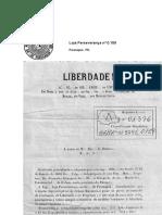 1º Decreto - Compra e Liberta Escravos